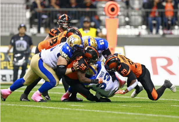 Winnipeg Blue Bombers vs BC Lions